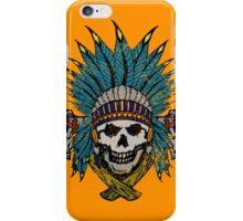 Indian Skull Head dress iPhone Case/Skin
