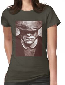 Peaky Blinders - Tommy Shelby Womens Fitted T-Shirt