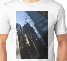 A Study in Contrasts - Downtown Toronto Miniature Park - Left Unisex T-Shirt
