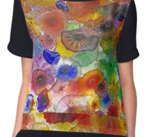 Glass Collage Chiffon Top