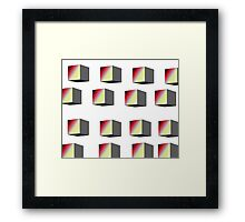 Shades2 Framed Print