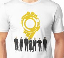 Section 9 Gold Seal - Ghost in the Shell Unisex T-Shirt