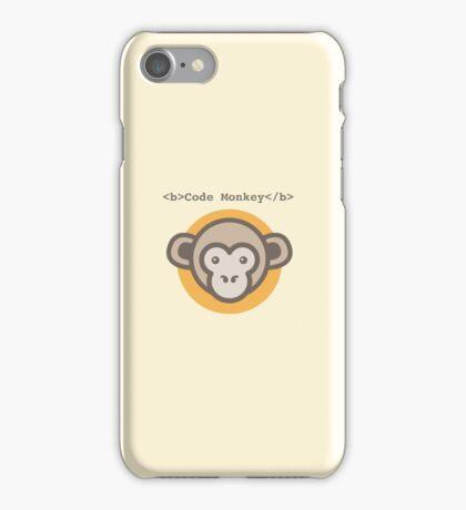 Code Monkey iPhone Case/Skin