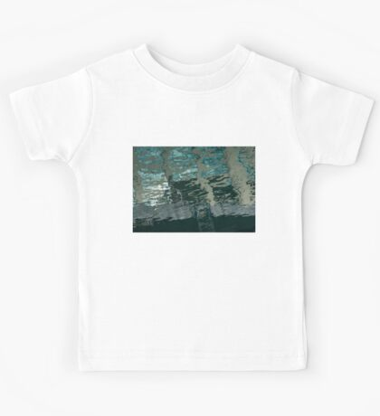 Playful Abstract Reflections Kids Tee