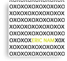 Eric Nam - XOXO Canvas Print