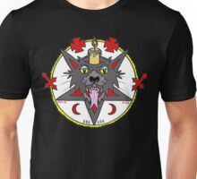 LIT UP DEVIL CAT Unisex T-Shirt