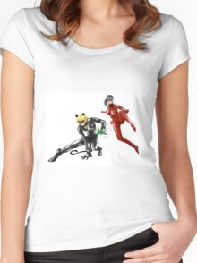 Miraculous Women's Fitted Scoop T-Shirt