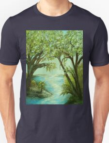 View from the River Bank Unisex T-Shirt
