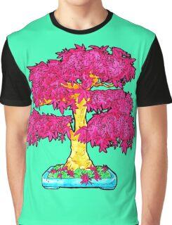 hot pink maple bonsai  Graphic T-Shirt