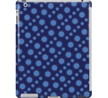 Graphic Circle Shapes Design blue 519G iPad Case/Skin