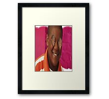 Cory with Cory eyes ( ͡° ͜ʖ ͡°) Framed Print