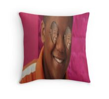 Cory with Cory eyes ( ͡° ͜ʖ ͡°) Throw Pillow