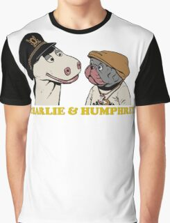 Charley and Humphrey Graphic T-Shirt