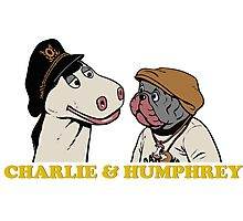 Charley and Humphrey Photographic Print