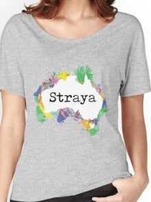 Straya Women's Relaxed Fit T-Shirt