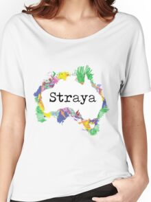 Straya Women's Relaxed Fit T-Shirt