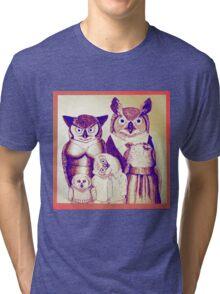 The Owls Together Tri-blend T-Shirt