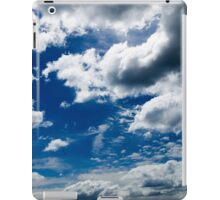 The sky over Wollongong iPad Case/Skin