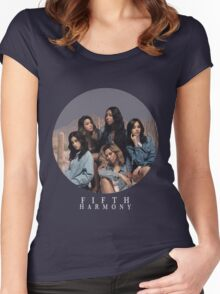 Fifth Harmony (Circle) Women's Fitted Scoop T-Shirt
