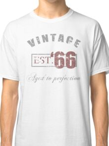 Vintage 1966 Grunge Classic T-Shirt