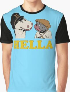 Charlie and Humphrey HELLA Graphic T-Shirt