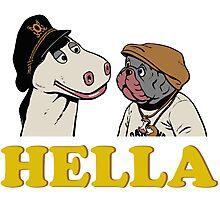 Charlie and Humphrey HELLA Photographic Print