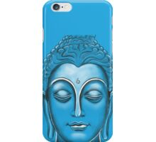 Buddha - Blue iPhone Case/Skin