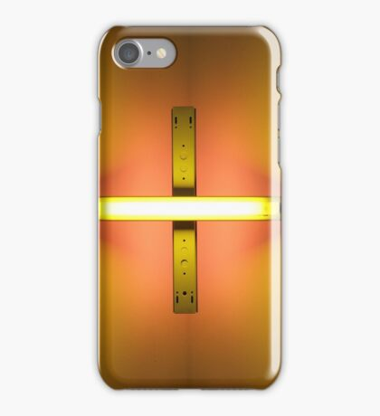 MOMA # 1 (Dan Flavin - untitled. 1969) iPhone Case/Skin