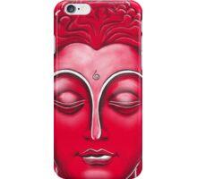 Buddha  - Red iPhone Case/Skin