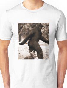 Bigfoot vs. The Rev. Daisher Rocket Unisex T-Shirt