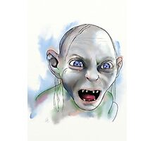 Gollum. Photographic Print