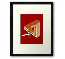 Layer Cake Framed Print