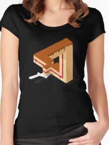 Layer Cake Women's Fitted Scoop T-Shirt