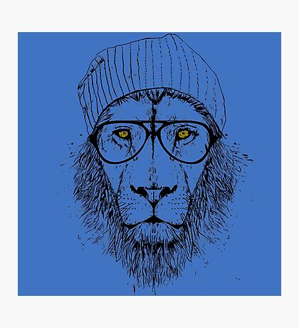 Cool As Lion Photographic Print