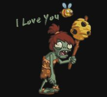 Plants vs Zombies  I Love You Baby Tee