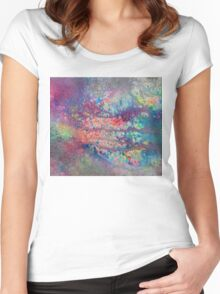 Abstract.26 Women's Fitted Scoop T-Shirt