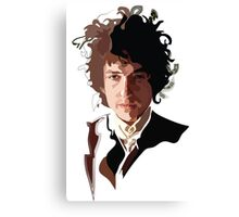 Bob Dylan Music Icon Canvas Print