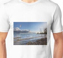 Kite Surfer near Fischbach - Lake Constance, Germany Unisex T-Shirt