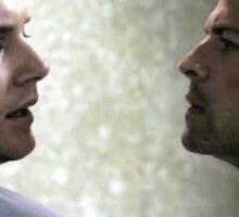 Dean and castiel  Sticker