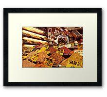 Spice Bizarre - Istanbul, Turkey Framed Print