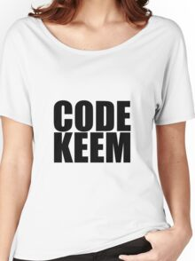 Use Code Keem Women's Relaxed Fit T-Shirt