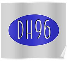 DH96 Official Brand Logo Poster