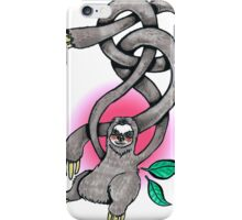 Wiggly Arm Sloth iPhone Case/Skin