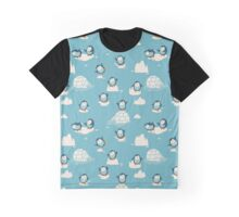 Penguins on ice Graphic T-Shirt