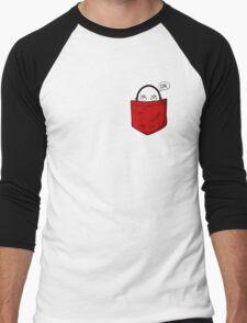 one punch man pocket Men's Baseball ¾ T-Shirt