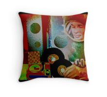Astrophonic Throw Pillow