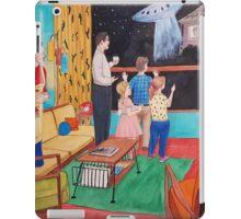 UFO in the 50s iPad Case/Skin