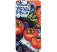 Thai Elephants with Persimmons iPhone Case/Skin