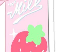 Strawberry Milk Sticker