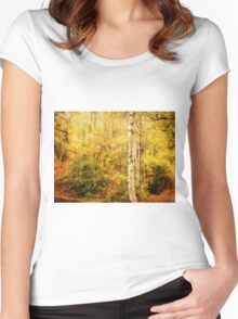 The Woodland Women's Fitted Scoop T-Shirt